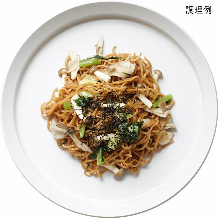 きのこと野沢菜にんにくしょうゆ味
